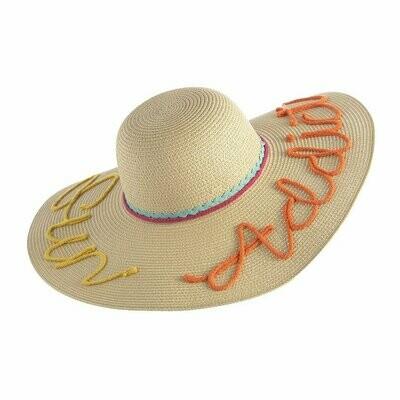 Sun Addict Sun Hat In Natural