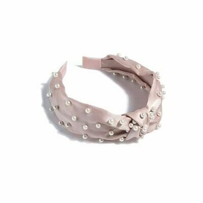 Shiraleah Pearl Headband In Blush