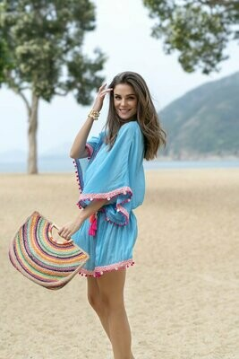Shiraleah Anya Cover-Up In Blue