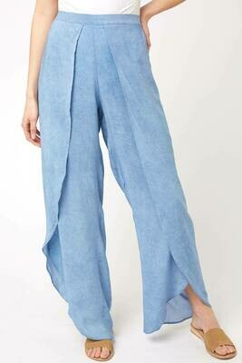 Elan Pants Wrap in Blue