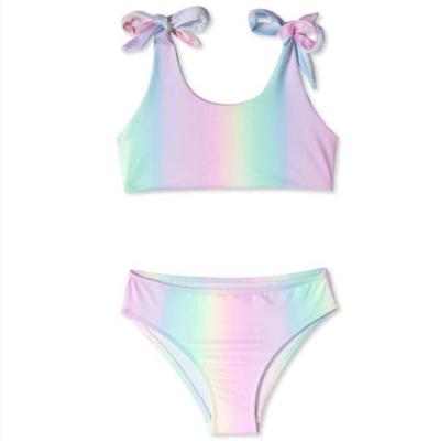Stella Cove Rainbow Tie Shoulder Bikini
