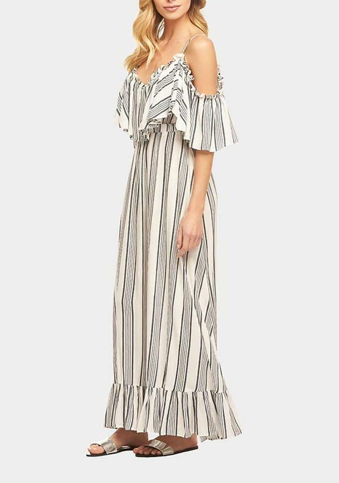 Tart Collections Ryan Maxi Dress in Maison Stripe