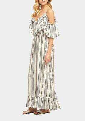 Tart Collections Ryan Maxi Dress in Maison Stripe