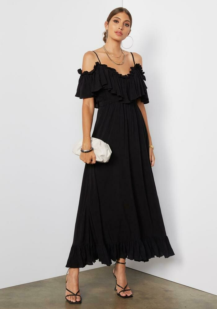 Tart Collections Ryan Maxi Dress in Black