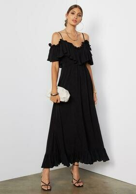 Tart Collections Ryan Maxi Dress in Black