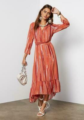 Tart Collections Wren Maxi Dress in DryBrush Stripe