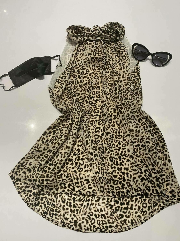 Single Juliet Blouse in Leopard