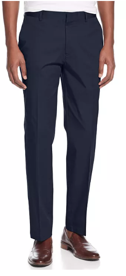 Stone Rose Stretch Twill Pants in Navy