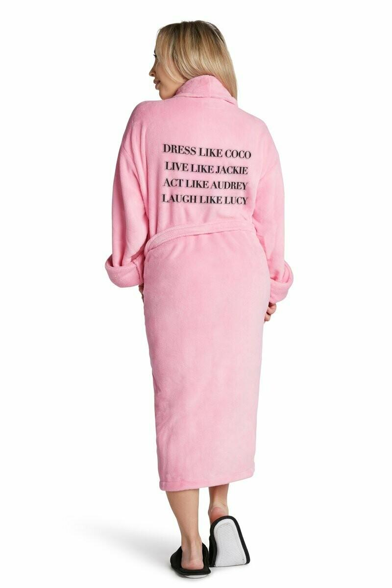 LA Trading Co Plush Robe- Dress Like Coco - Pink