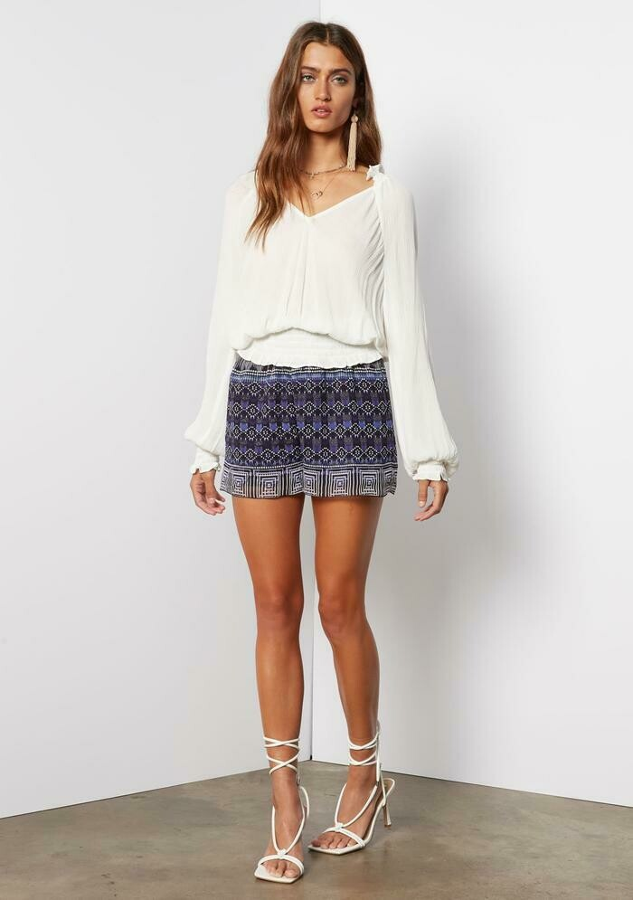 Tart Collections Alaia Top in White
