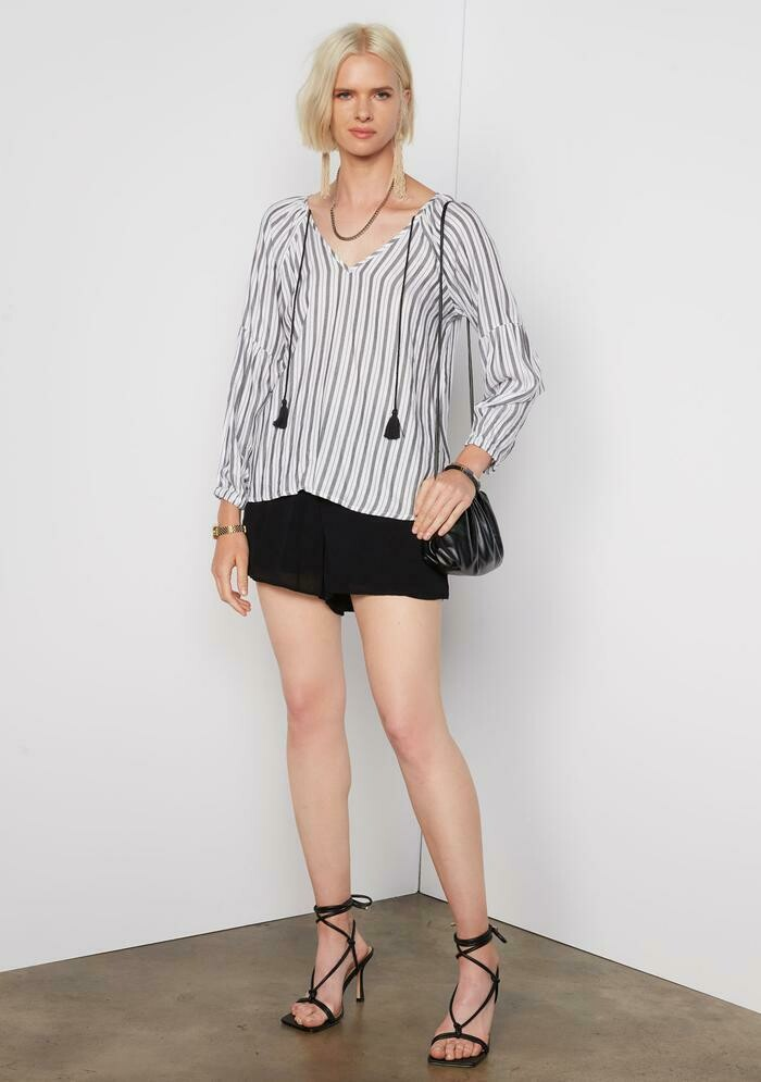 Tart Collections Zahra Top in Tier Stripe