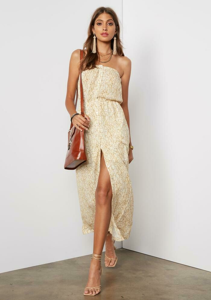Tart Collections Trin Maxi Dress In Python