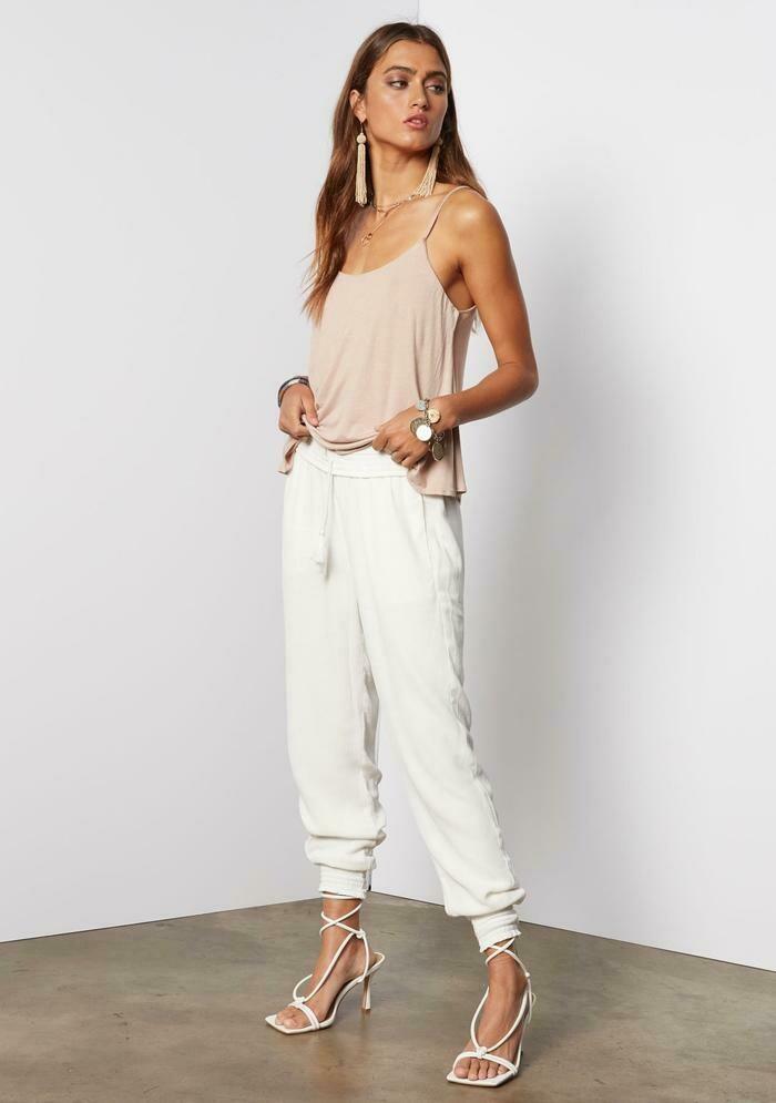 Tart Collection Josie Pant in White