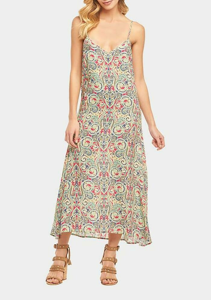 Tart Collections Vera Midi Dress in Cape Town Paisley