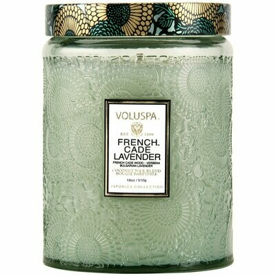 Voluspa French Cade Lavender Large Jar Candle
