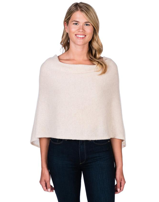 Jackie Z Cashmere Dress Topper in Dune