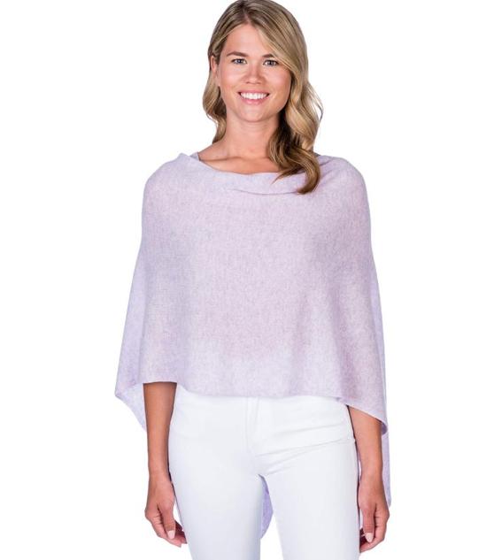 Jackie Z Cashmere Dress Topper in Lavender