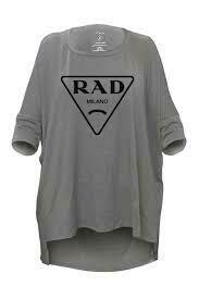 LA Trading Co Rad Mimi Tee In Grey