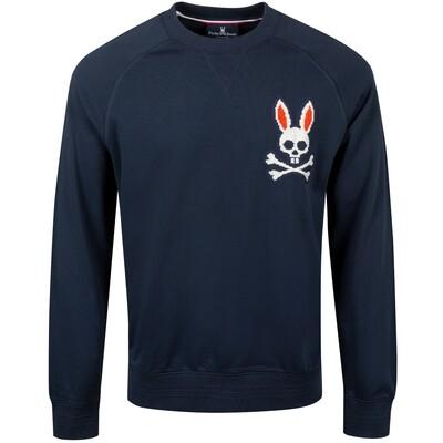Psycho Bunny Men's Barking Sweatshirt In Navy