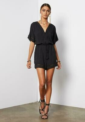 Tart Collections Kyra Romper In Black