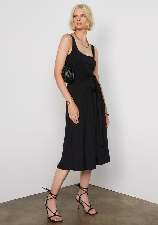 Tart Collections Lynee Midi Dress In Black