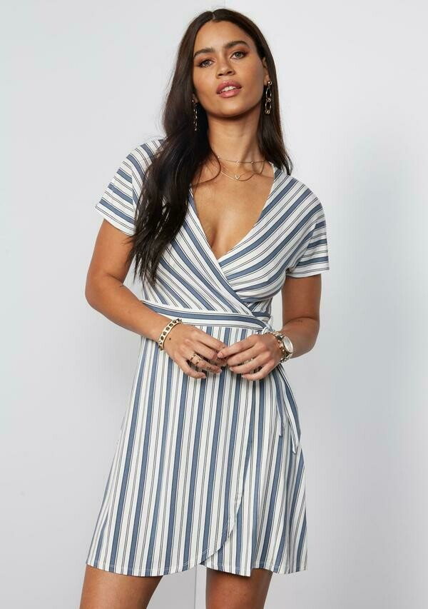 Tart Collections Cameo Dress In Bengal Stripe