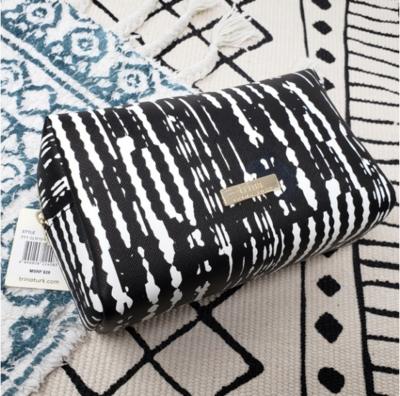 Trina Turk Cosmetics Bag in Black and White