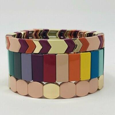 JZ StackZ Autumn Stack Bracelets