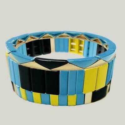 JZ StackZ Blue Ice Bracelets