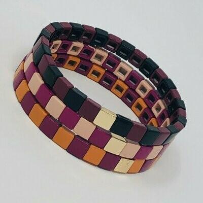 JZ StackZ Chicklets Bracelets