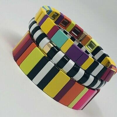 JZ StackZ Licorice All-sorts Bracelets