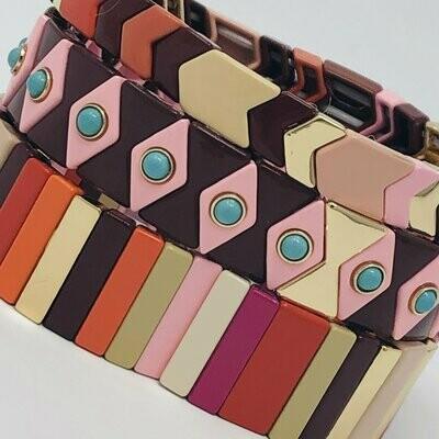 JZ StackZ Sixlets Bracelets