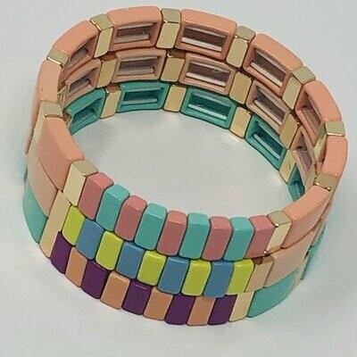 JZ StackZ Salt Water Taffy Bracelets