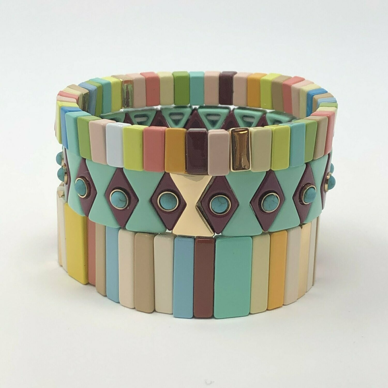 JZ StackZ Sorbet Bracelets