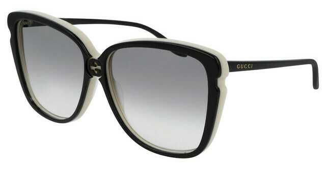 Gucci Sunglass Woman Acetate With Grey Gradient Lenses