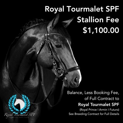 Stallion Service Fee, Less Booking