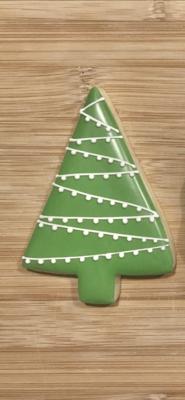 Gourmet Christmas Sugar Cookie TREE