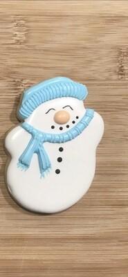 Gourmet Christmas Sugar Cookie SNOWMAN
