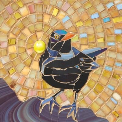 Blackbird on Yellow