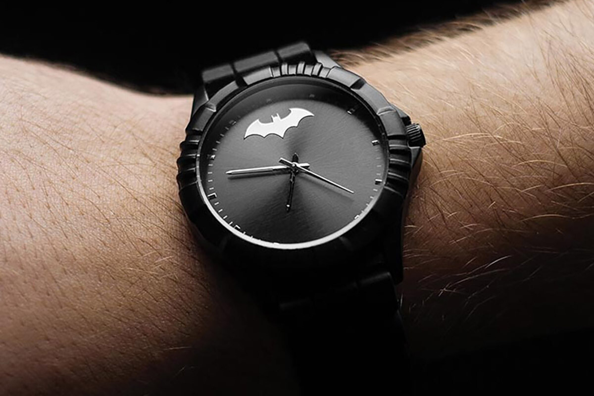Batman Watch Black Superhero V2