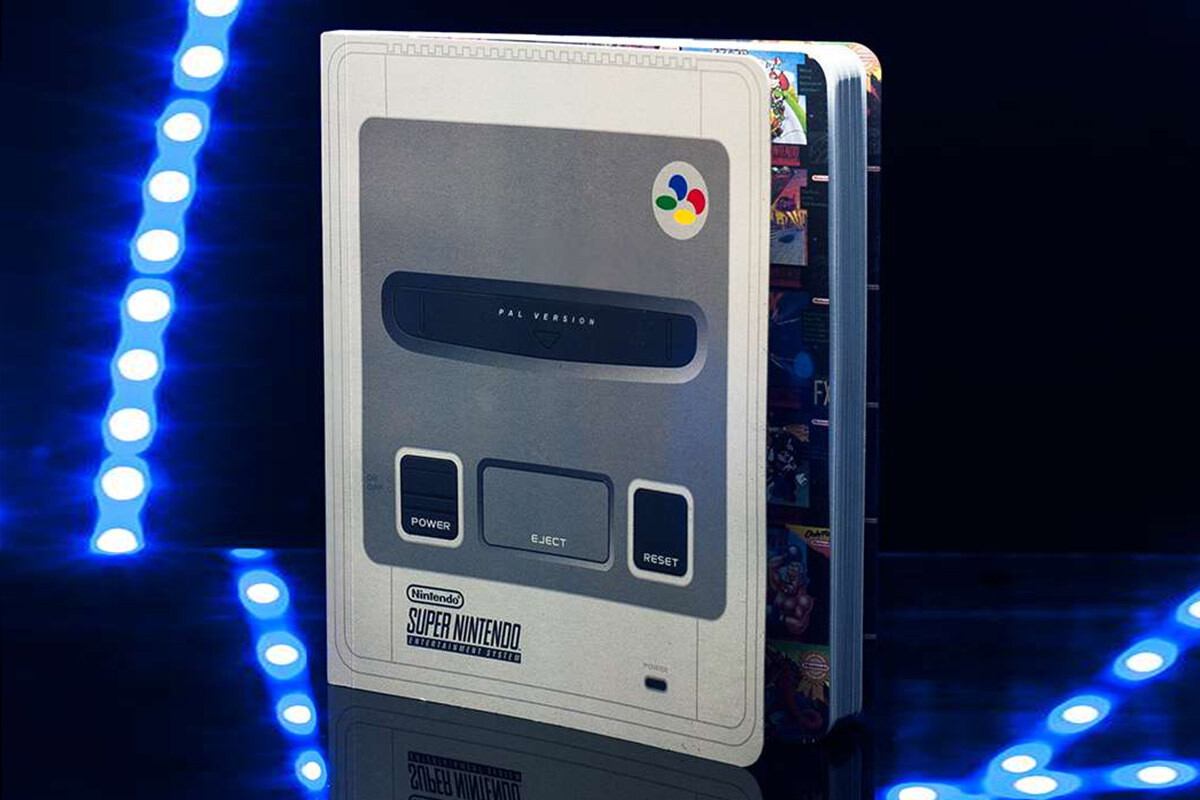 SNES Notebook A5 Softback