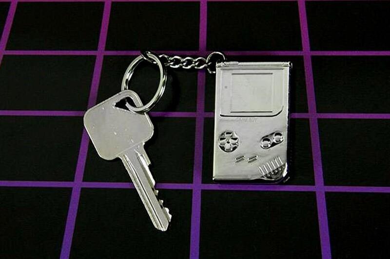 Game Boy 3D Metal Keyring