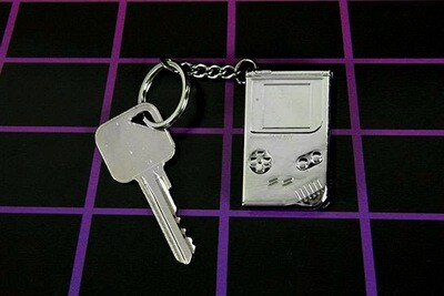 Game Boy 3D Metal Keyring