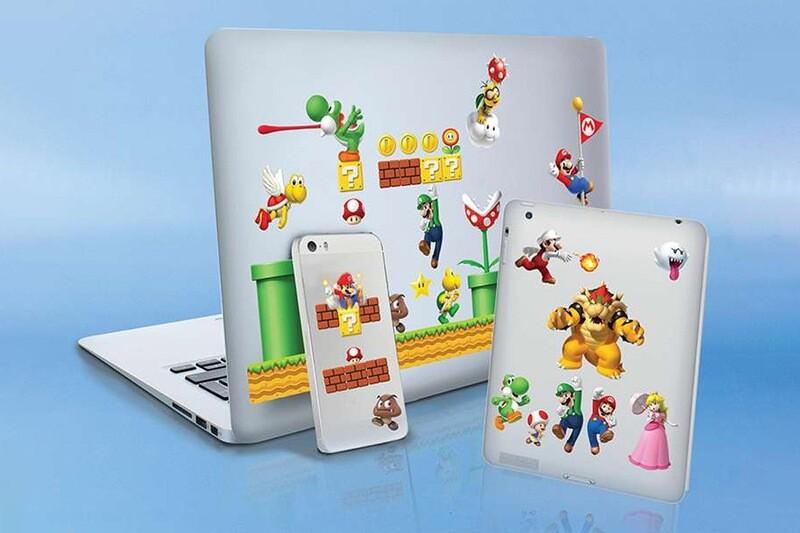 Super Mario Gadget Decals