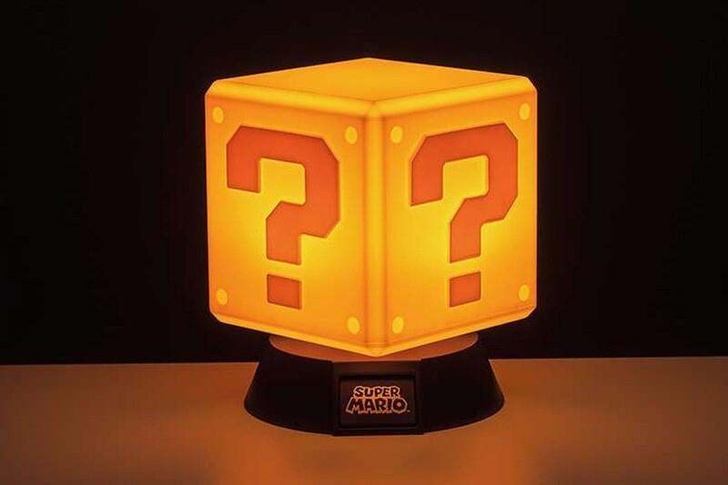 Super Mario Question Block 3D Light