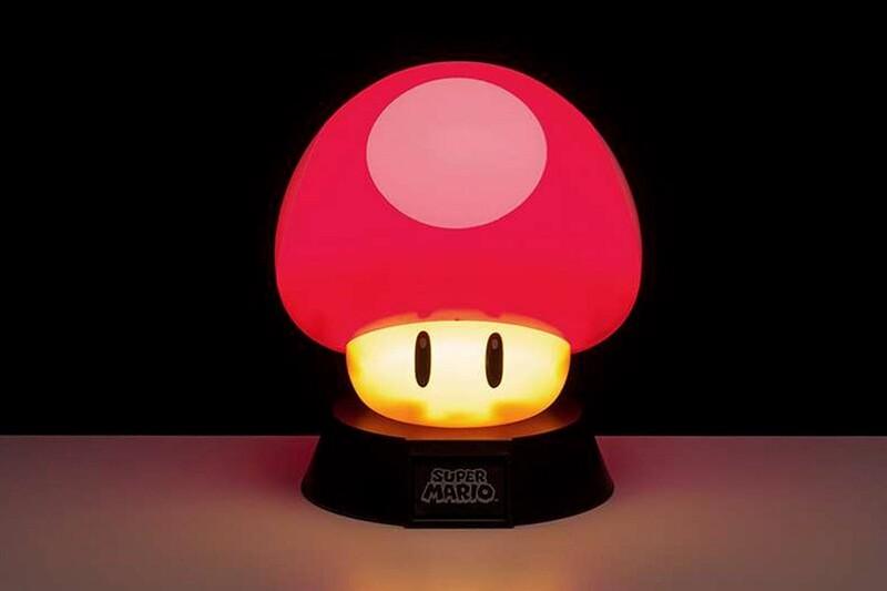 Super Mario Mushroom 3D Light