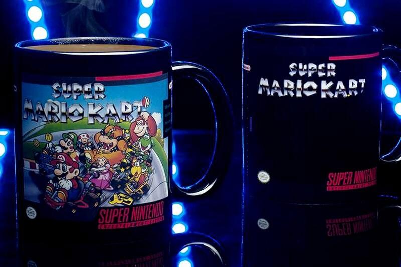 Super Mario Kart Heat Change Mug
