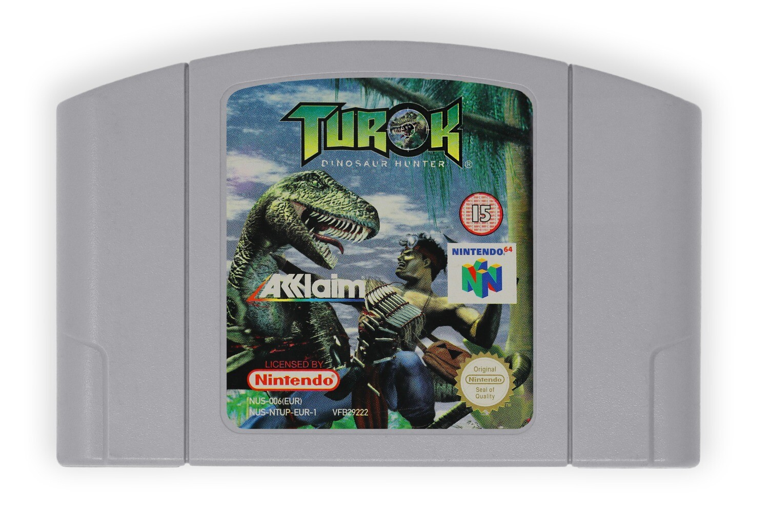 Turok: Dinosaur Hunter (N64 PAL)