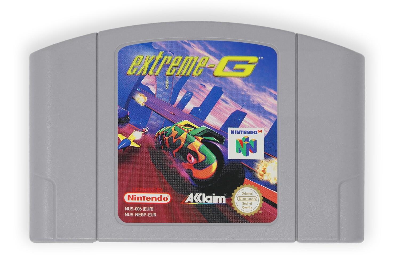Extreme-G (N64 PAL)