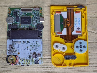 Game Boy Pocket: Send In Service (UK Only)